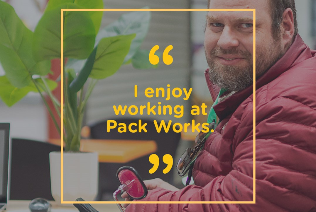 unisson works process worker at packworks